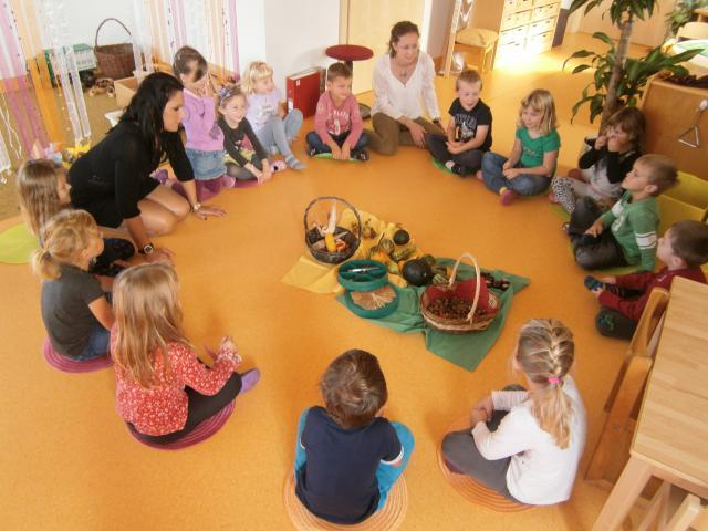 Kindergarten inzenhof for Herbstprojekt im kindergarten